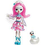 Кукла с любимой зверюшкой Enchantimals, Саффи Свон и Пойси