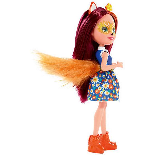 Кукла с любимой зверюшкой Enchantimals, Фелисити Фокс и Флик