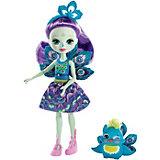 Кукла с любимой зверюшкой Enchantimals, Пэттер Пикок и Флэп