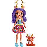 Кукла с любимой зверюшкой Enchantimals, Данесса Дир и Спринт