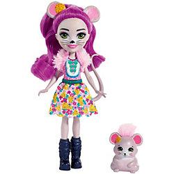 Кукла с любимой зверюшкой Enchantimals, Майла Маус и Фондю