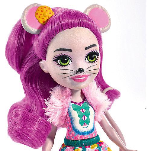 Кукла с любимой зверюшкой Enchantimals, Майла Маус и Фондю от Mattel
