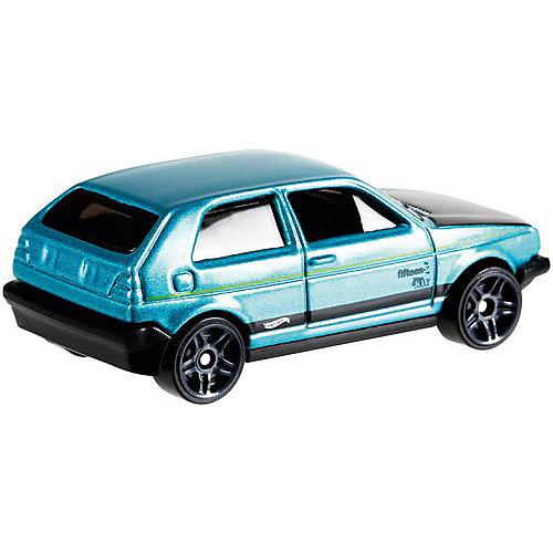 Базовая машинка Hot Wheels, Volkswagen Golf MK2 от Mattel