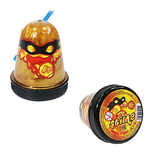 Лизун Slime Ninja, золотой, 130 г от Slime
