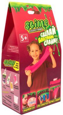 """Набор для девочек Волшебный мир """"Slime: Лаборатория"""", малый, розовый, 100 г"""