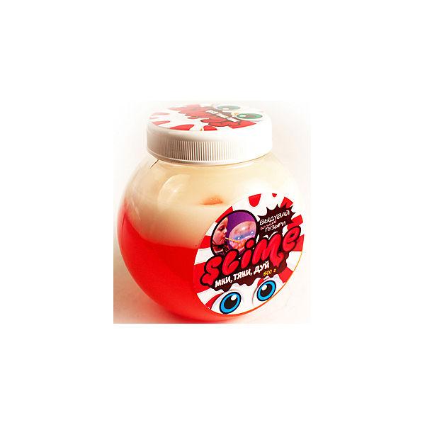 """Лизун """"Волшебный мир"""" Slime Mega Mix, розовый и белый, 500 г"""