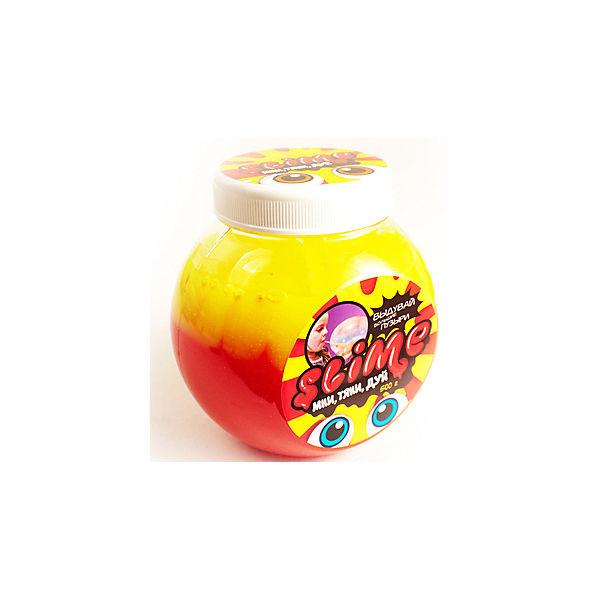 """Лизун """"Волшебный мир"""" Slime Mega Mix, желтый и клубничный, 500 г"""