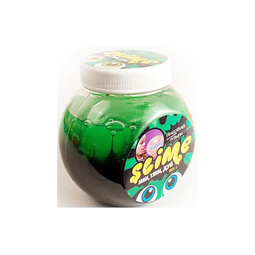 Лизун Slime Mega Mix, черный и зеленый, 500 г от Slime