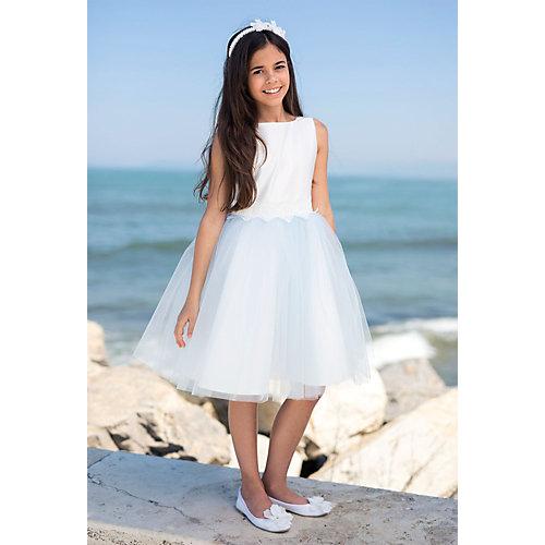 Нарядное платье SLY - голубой/белый от SLY