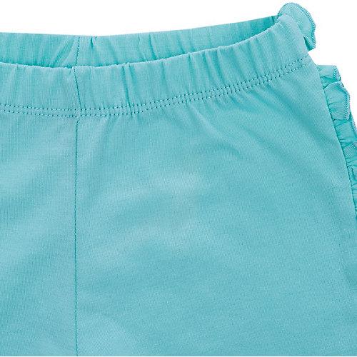 Комплект Birba: топ и шорты - голубой/белый от Birba