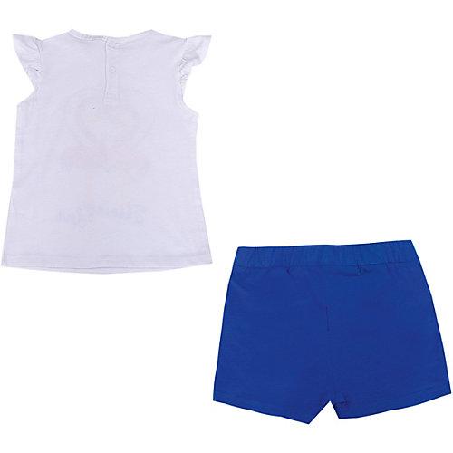 Комплект Birba: топ и шорты - синий/белый от Birba