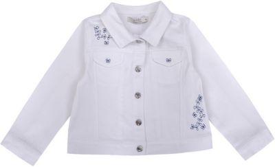 Куртка Birba для девочки - белый