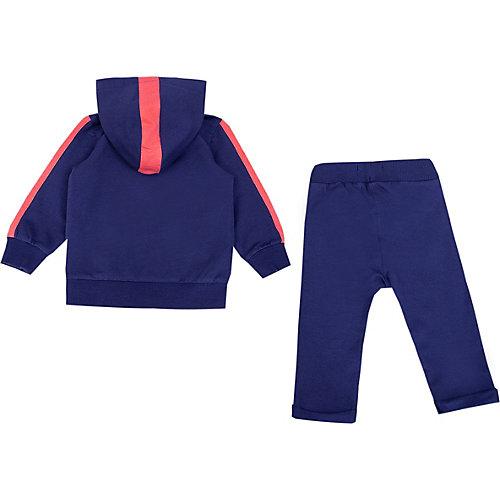 Комплект Birba: толстовка и брюки - темно-синий от Birba