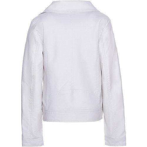 Кожаная куртка Trybeyond - белый
