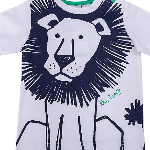 Комплект Birba: футболка и шорты - синий/белый от Birba