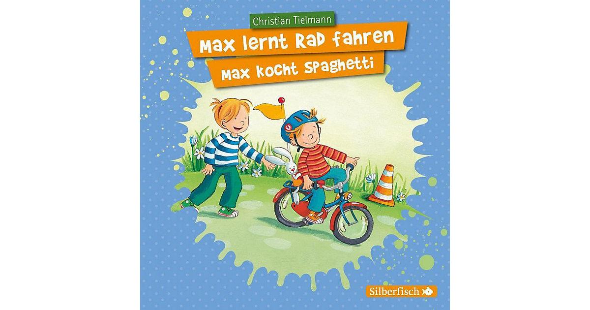 Max lernt Rad fahren/Max kocht Spaghetti, 1 Audio-CD Hörbuch