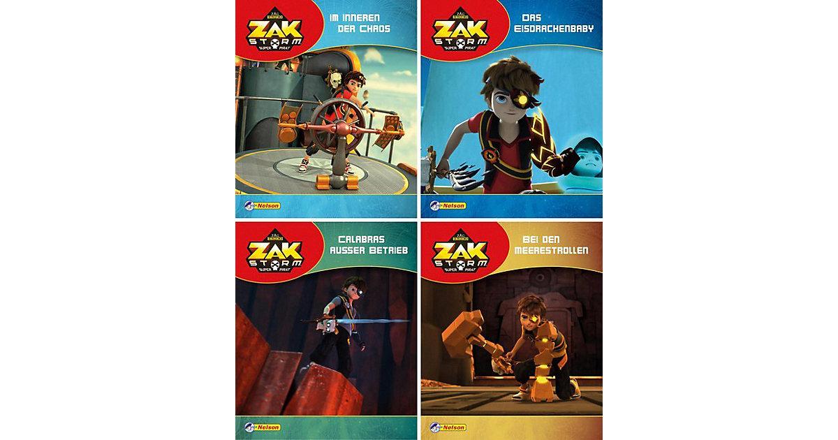 Carlsen · Nelson Mini-Bücher Zak Storm, Super Pirat