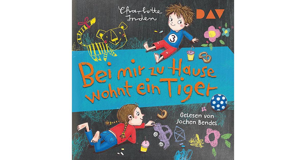 Bei mir zu Hause wohnt ein Tiger, 1 Audio-CD Hörbuch