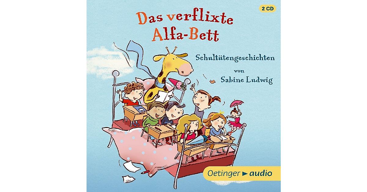 Das verflixte Alfa-Bett, 2 Audio-CDs Hörbuch