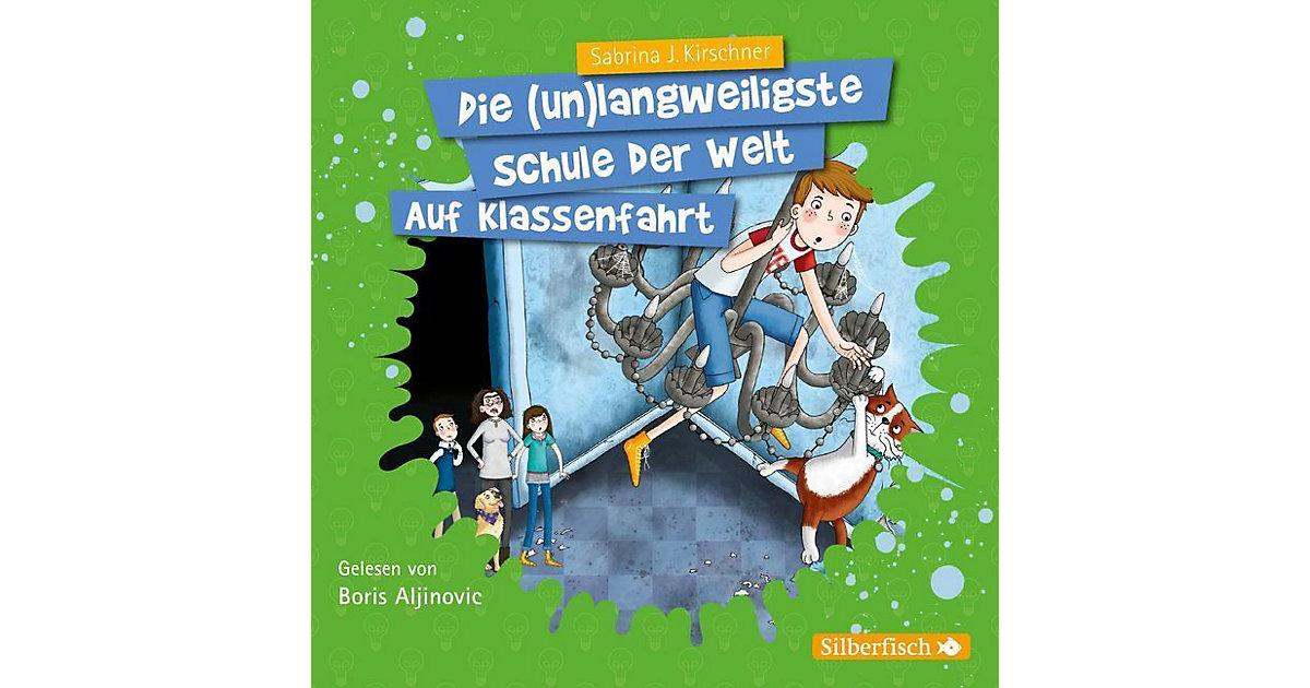 Auf Klassenfahrt, 2 Audio-CDs Hörbuch