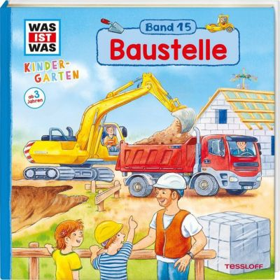 Buch - WAS IST WAS Kindergarten, Baustelle