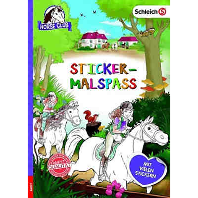 Schleich Horse Club: Sticker-Malspaß