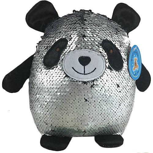 Мягкая игрушка ABtoys Панда с пайетками, 20 см от ABtoys