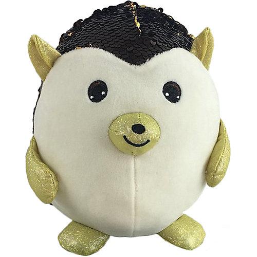 Мягкая игрушка ABtoys Ёж с пайетками, 20 см от ABtoys