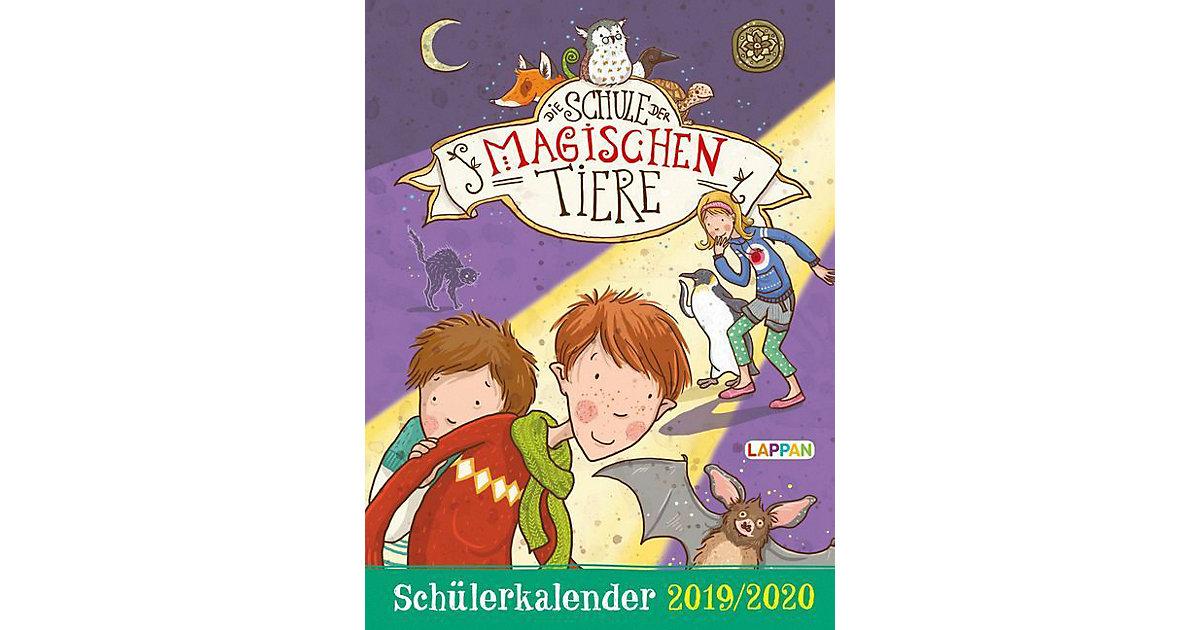 Buch - Die Schule der magischen Tiere Schülerkalender 2019/2020