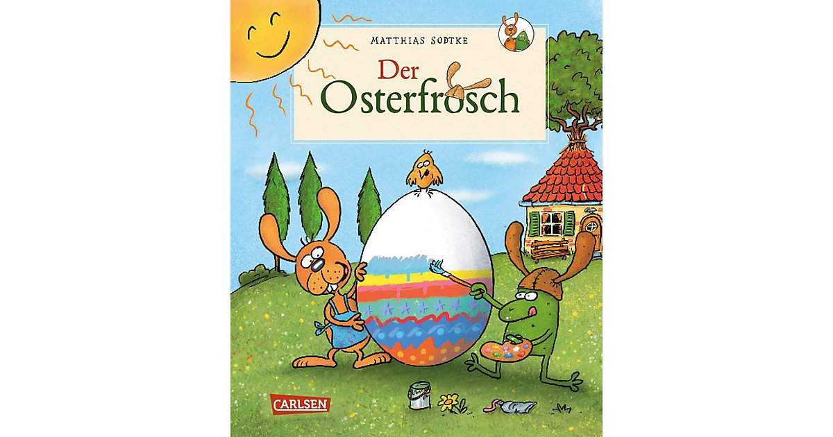 Buch - Der Osterfrosch
