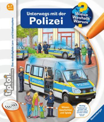 Buch - tiptoi®: Unterwegs mit der Polizei