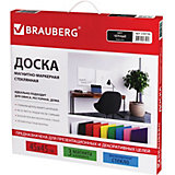Магнитно-маркерная доска Brauberg 45х45 см, чёрная