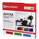 Магнитно-маркерная доска Brauberg 45х45 см, белая