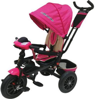 Трехколесный велосипед Lexus Trike 12х10, розовый
