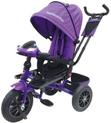 Трехколесный велосипед Lexus Trike 12х10, фиолетовый