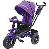 Трёхколёсный велосипед Lexus Trike 12х10, фиолетовый