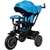 Трехколесный велосипед Next BMW 12х10, голубой