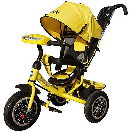 Трехколесный велосипед Next BMW 12х10, желтый от Next