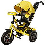 Трехколесный велосипед Next BMW 12х10, желтый