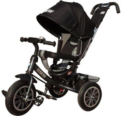Трехколесный велосипед Next BMW 12х10, черный