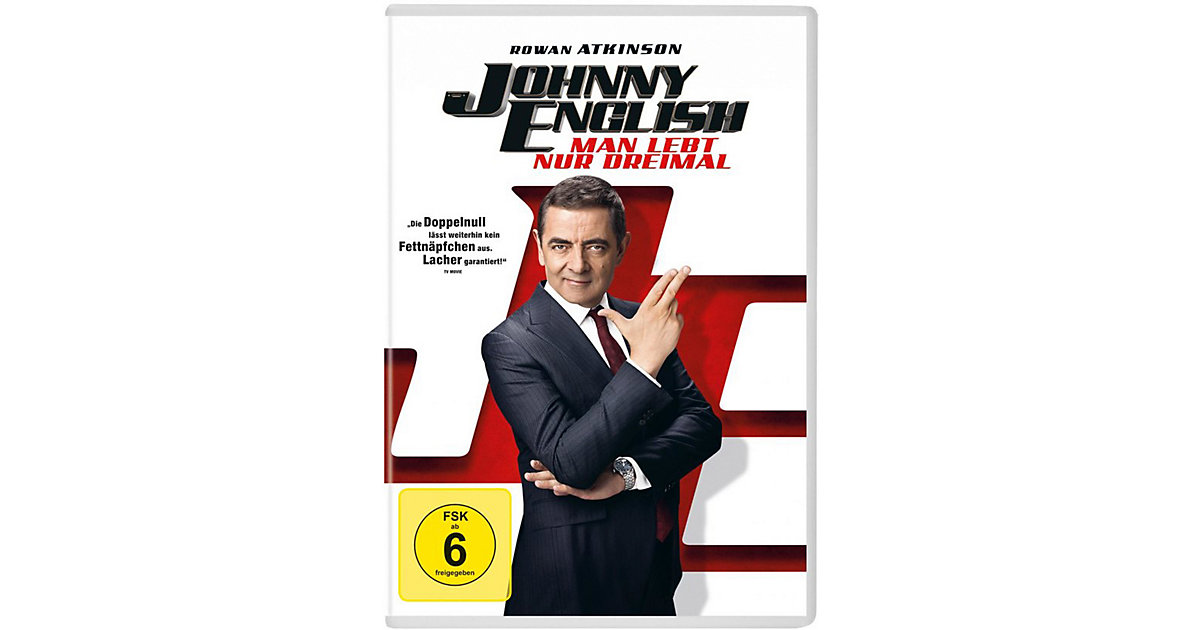 DVD Johnny English - Man lebt nur dreimal Hörbuch