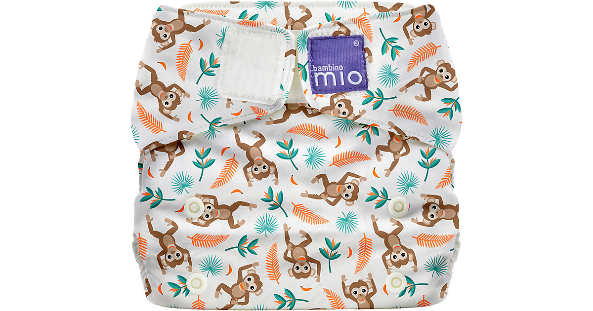 Bambino Mio · Miosolo all-in-one Stoffwindel Regenwald, Klammeraffee