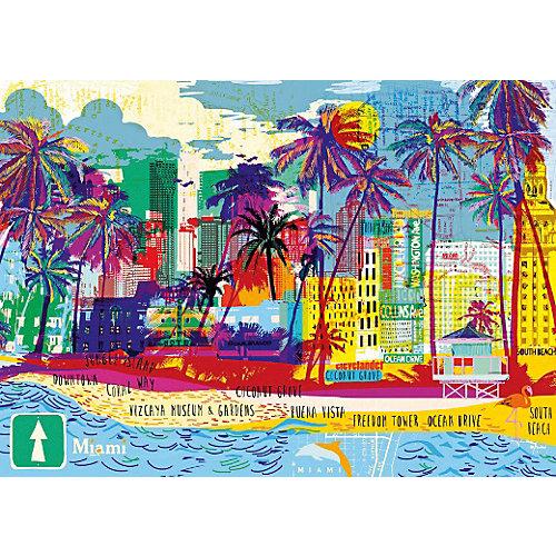 """Пазл Heye """"Я люблю Майами"""", 1000 деталей от HEYE"""