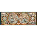 "Пазл Heye ""Карта полушарий"", панорама, 6000 деталей"