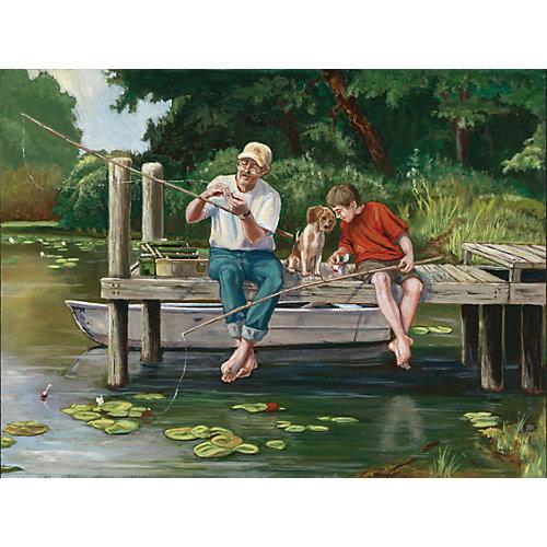 """Пазл Cobble Hill """"Утро на рыбалке"""", 1000 деталей от Cobble Hill"""