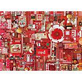 """Пазл Cobble Hill """"Красный"""", 1000 деталей"""
