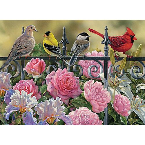 "Пазл Cobble Hill ""Птицы на ограде"", 1000 деталей от Cobble Hill"