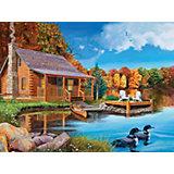"""Пазл Cobble Hill """"Озеро с гагарами"""", 500 деталей"""