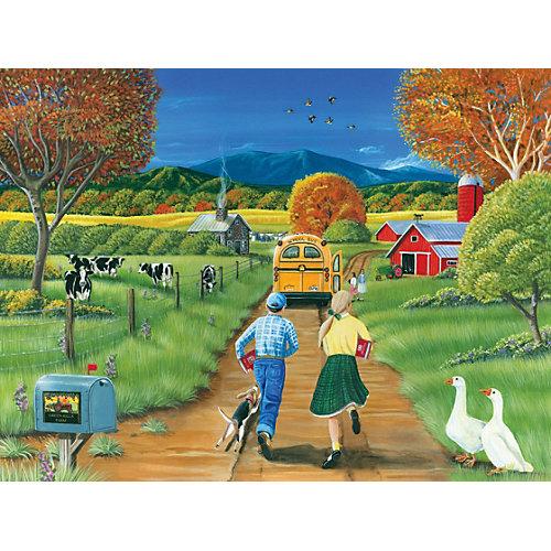 "Пазл Cobble Hill ""Школьный автобус"", 400 деталей от Cobble Hill"