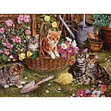 """Пазл Cobble Hill """"Котята в саду"""", 275 деталей"""
